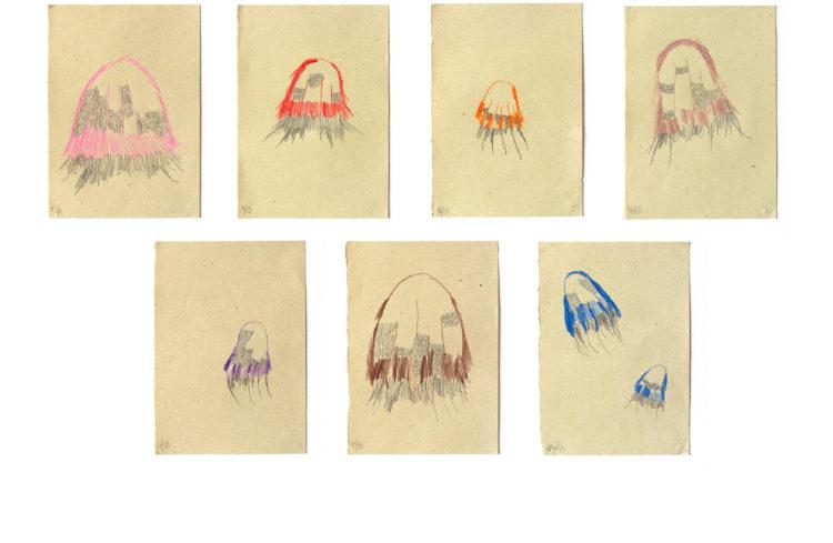 sem título | 21 x 29,7cm | lápis de cor e grafite sobre papel | 2020